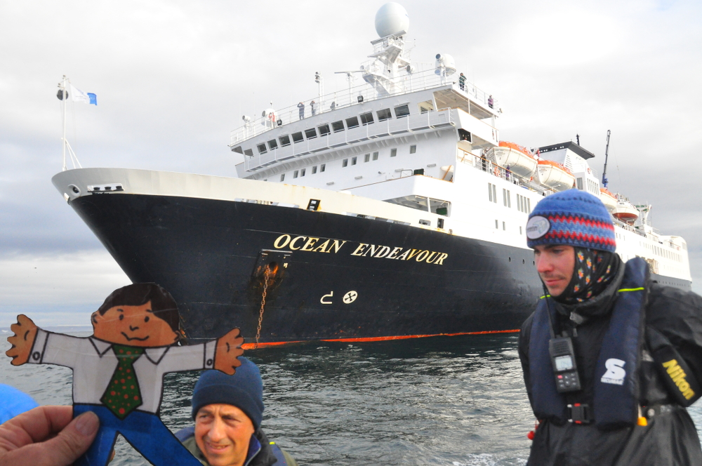 FS Endeavour cruise ship with Adventure Canada