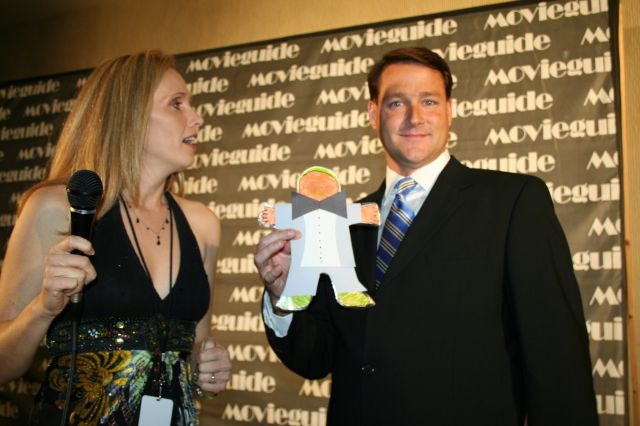 Flat Stanley makes a splash on the red carpet